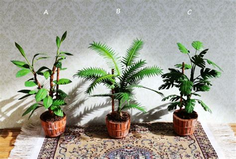 Pflanzen Für Miniaturgarten by Dollhouse Miniature Flower For Dollhouse Scale Of 1 12