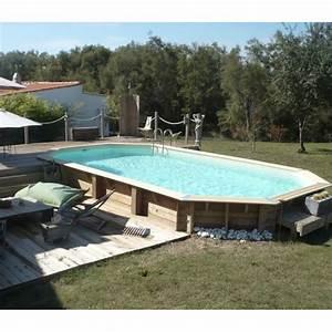Piscine Bois Ubbink : piscine bois octogonale allong e 400x750cm azura toute ~ Mglfilm.com Idées de Décoration