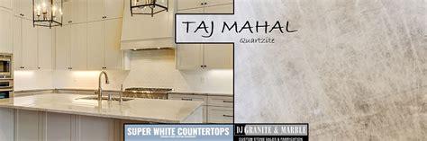 taj mahal quartzite white countertops