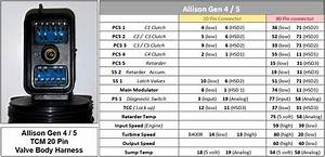 3000 4000 Allison Transmission Wiring Diagram  Parts