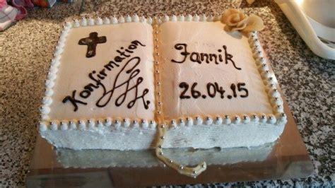 Kuchen  Pastel Zur Konfirmation  Backen Pinterest