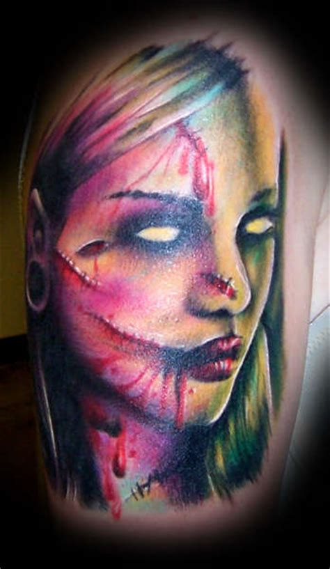 10+ Nice Horror Tattoo Designs