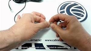 Como Montar Um Conector Rj11 Para Cabo De Telefone