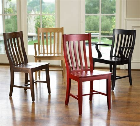 schoolhouse chair pottery barn dining room