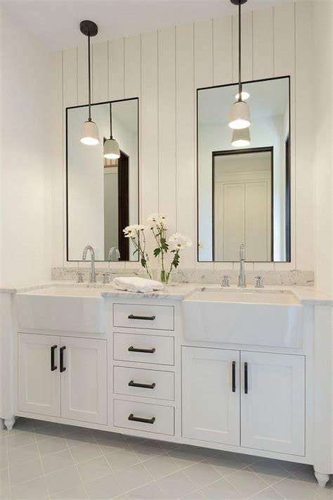 White Shiplap Bathroom by Bathroom Shiplap Wall Mirrors Bathroom With