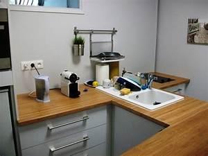 plan de travail cuisine ikea art39ebenart39eben With meuble plan de travail cuisine ikea
