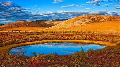Autumn Yukon Bing Highway Sun Bbg Dempster