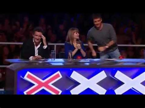 piers upsets  girl  britains  talent youtube