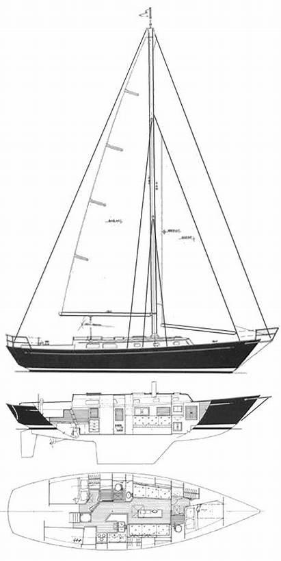 Niagara Boat Sailboat Ellis Mark Sailboatdata Drawing