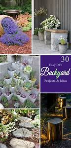 30, Easy, Diy, Backyard, Projects, U0026, Ideas, 2017