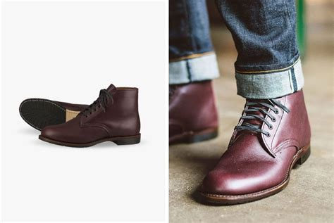red wing heritages sheldon boot  fit  everday wear gear patrol