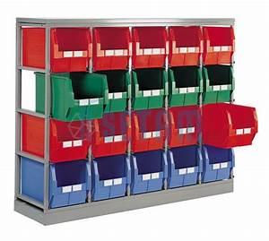 Bac De Rangement : bac rangement plastique sous lit maison design ~ Edinachiropracticcenter.com Idées de Décoration