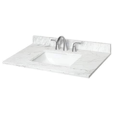 ariston natural marble bathroom vanity top  lowescom