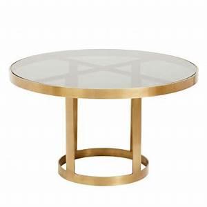 Table Basse Metal Verre : set de 2 tables basses en palissandre sham par ~ Mglfilm.com Idées de Décoration