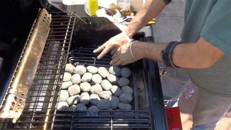 lavasteine für grill char broil lava rock conversion mod bbq style