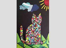 Afternoon Paper Mosaics — Art Trek