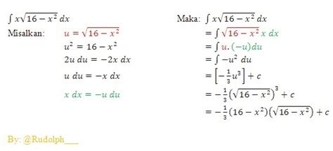 contoh soal  pembahasan tentang integral contoh soal