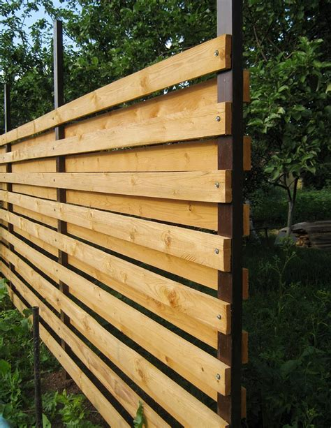 pictures of horizontal fences how to build a horizontal fence without a lot of effort