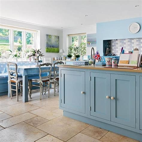blue and green kitchen decor 15 charming country kitchen design ideas rilane 7925