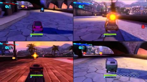 Cars 2 Multiplayer Gameplay