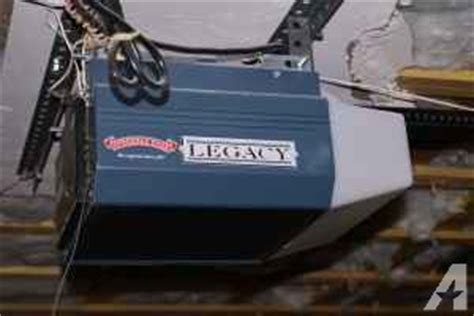 legacy garage door opener legacy overhead garage door opener inverness for