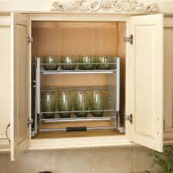 Under Cabinet Spice Rack That Pull Down by Rev A Shelf Quot Premiere Quot Pull Down Shelving System For