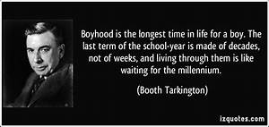 Booth Tarkingto... Booth Tarkington Quotes