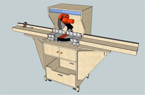 miter  station woodworking plan plans