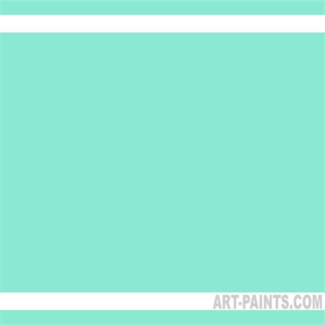 turquoise green soft light tones pastel paints n132242