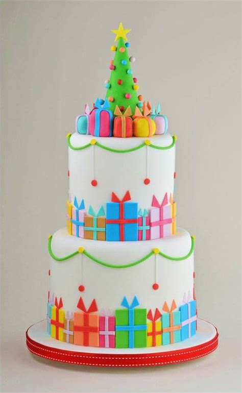 christmas cakes ideas  pinterest christmas