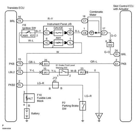 Brake Warning Light Switch Diagram by Note Start The Inspection From Step In Of Using The