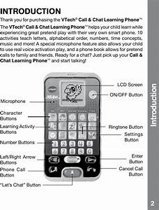 Vtech Call And Chat Learning Phone Owners Manual