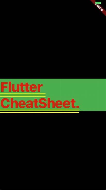 Flutter Container Cheat Sheet Medium Widget Talk