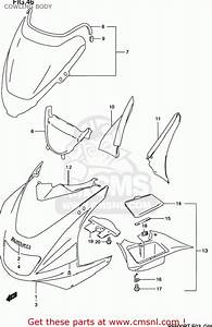 Suzuki Rf600r 1994  R  Usa  E03  Cowling Body