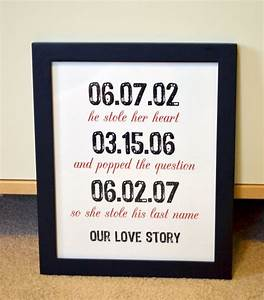1st wedding anniversary gifts for wife ideas pinterest for Wedding gift for wife