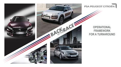 Psa Citroen by Psa Peugeot Citroen To Cut Model Range From 45 To 26 By 2020