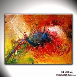 Abstrakte Bilder Acryl : gewitter abstrakte malerei acryl gem lde kunst von atelier burgstallers art at ~ Whattoseeinmadrid.com Haus und Dekorationen