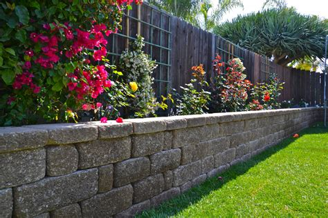 garden wall planter unique garden retaining wall brick planters