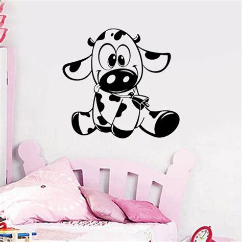 stickers chambre bébé jungle déco vache chambre bebe
