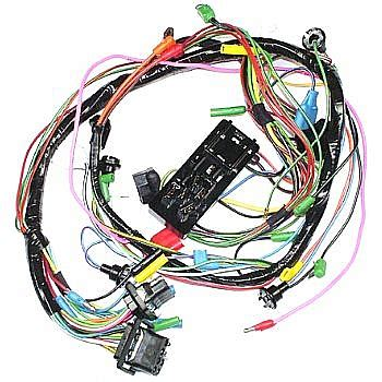 Dash Wiring Harnes by 1960 62 Dash Wiring Harnesses