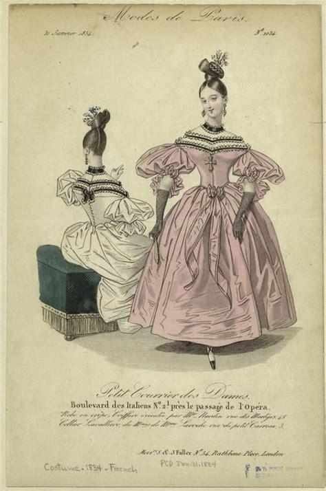 modes de paris petit courrier des dames january