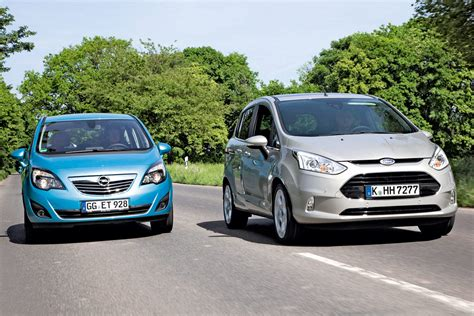vauxhall ford ford b max vs vauxhall meriva news auto express