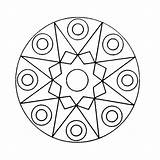 Mandala Kaleidoscope Coloring Pages Printable Q4 Coloringpages sketch template