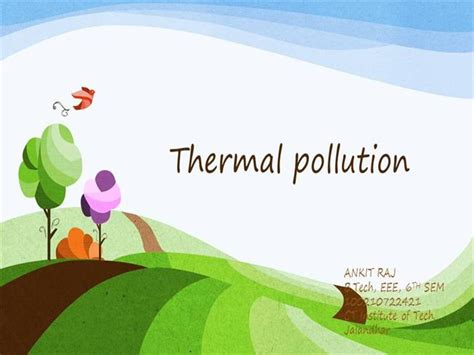 thermal pollution authorstream