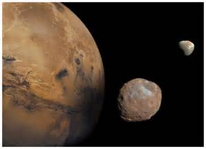 Mars once had 3 moons besides Phobos and Deimos -- Science ...