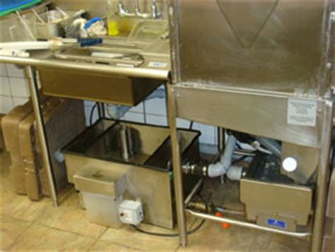 kitchen sink grease trap grease trap and interceptor sizing 5818
