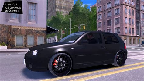 golf 4 r32 tuning volkswagen golf iv r32 v2 gta iv tuning 4k 60fps gtx 1080