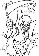 Disegni Halloween Spaventosi Colorare Pianetabambini sketch template