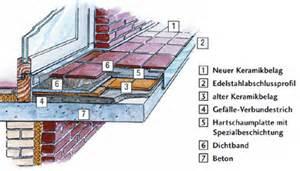 balkon estrich estrich auf balkon erneuern carprola for