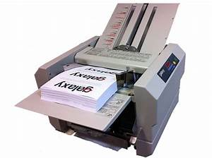 galaxy fm500 paper folding machine letter folder a4 a5 With letter folding machine ebay